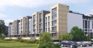 В Минске продают квартиры в 4-этажном доме вдоль Свислочи