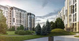 Стартовали продажи квартир с отделкой в жилом комплексе на берегу реки Свислочь