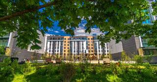 Посмотрите, какой жилой комплекс строят на берегу реки Свислочь