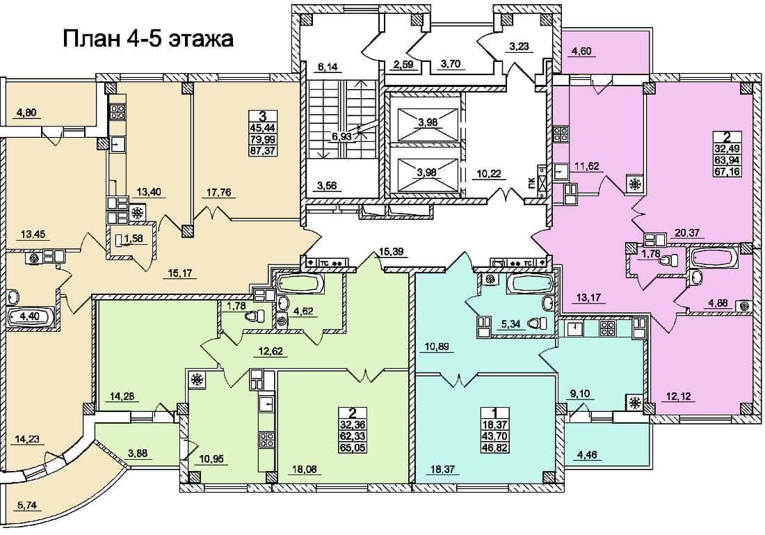 Жилой дом №5 по ул. Суворова в г. Гродно - фото 4