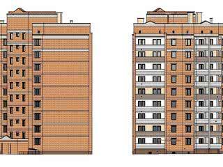 Жилой дом № 615А в микрорайоне № 6 жилого района «Аэропорт»