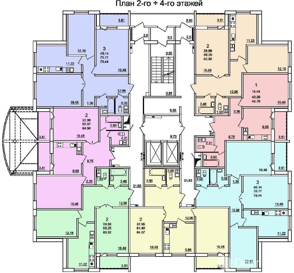 Жилой дом № 3 в микрорайоне «Фолюш» в г. Гродно - фото 5