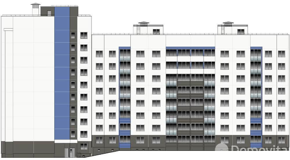 Жилой комплекс «Колбасино» по ул. Суворова в г. Гродно. Многоквартирный жилой дом №318. - фото 2