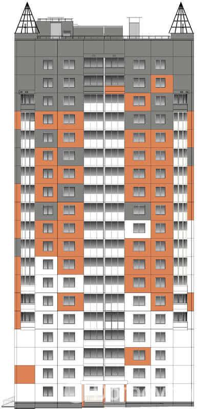 Жилой дом № 3 в микрорайоне «Фолюш» в г. Гродно - фото 1