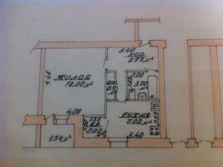 1-комнатная квартира, Борисов, ул. 8 Марта, д. 9