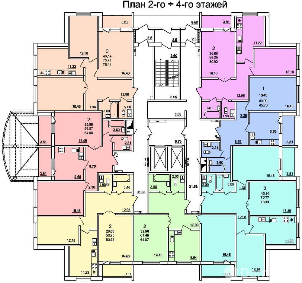 Жилой дом № 2 в микрорайоне «Фолюш» в г. Гродно - фото 6