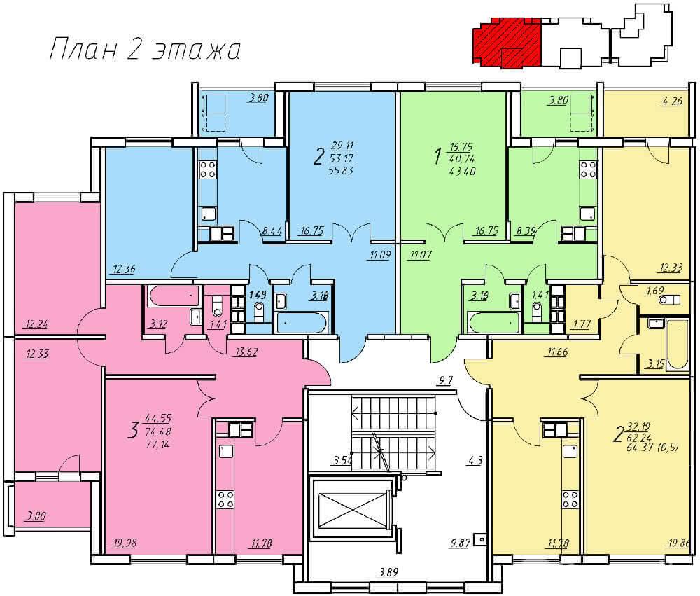 Жилой комплекс «Колбасино» по ул. Суворова в г. Гродно. Многоквартирный жилой дом №318. - фото 5