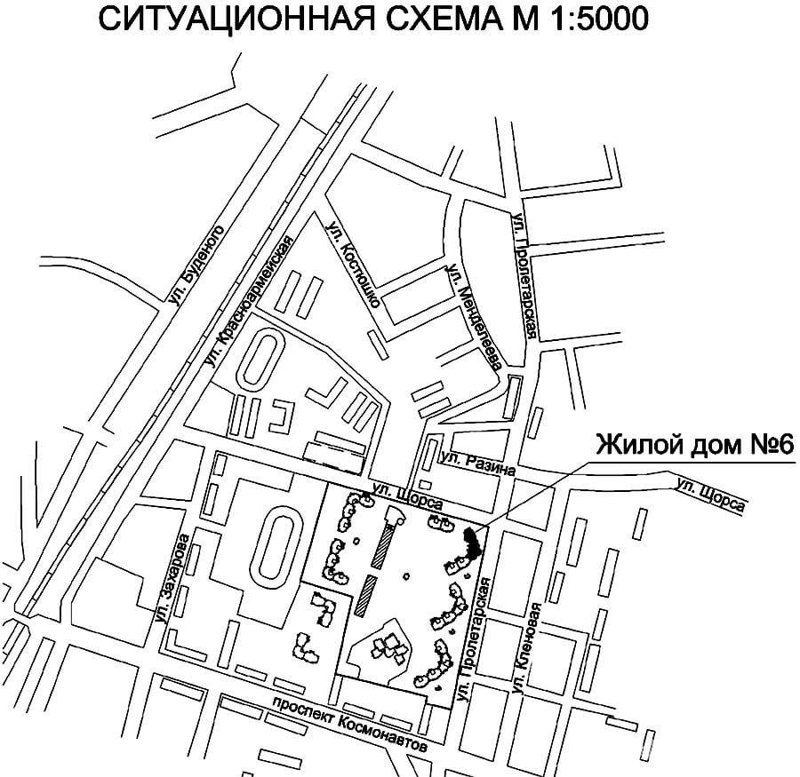 Жилой дом № 6 по ул. Пролетарской - Щорса в г. Гродно - фото 2