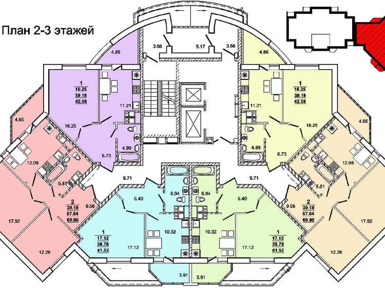 Жилой дом № 4 по ул. Пролетарской - Щорса в г. Гродно - фото 6