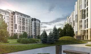 Посмотрите, какой жилой комплекс строят на берегу Свислочи.