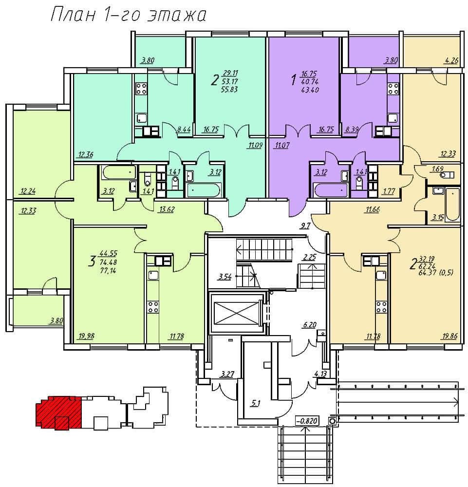 Жилой комплекс «Колбасино» по ул. Суворова в г. Гродно. Многоквартирный жилой дом №318. - фото 4