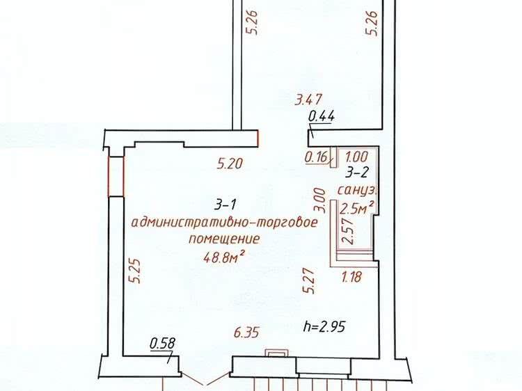 Аренда торговой точки на ул. Сурганова, д. 25 в Минске - фото 3