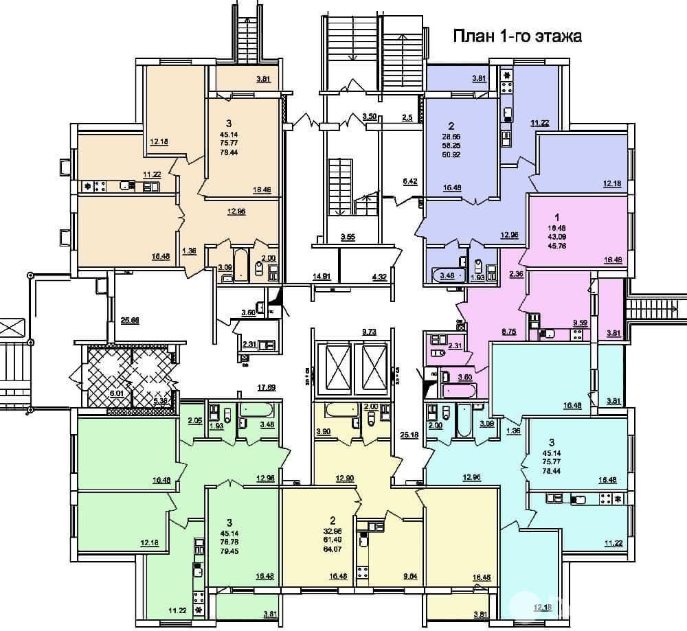 Жилой дом № 3 в микрорайоне «Фолюш» в г. Гродно - фото 4