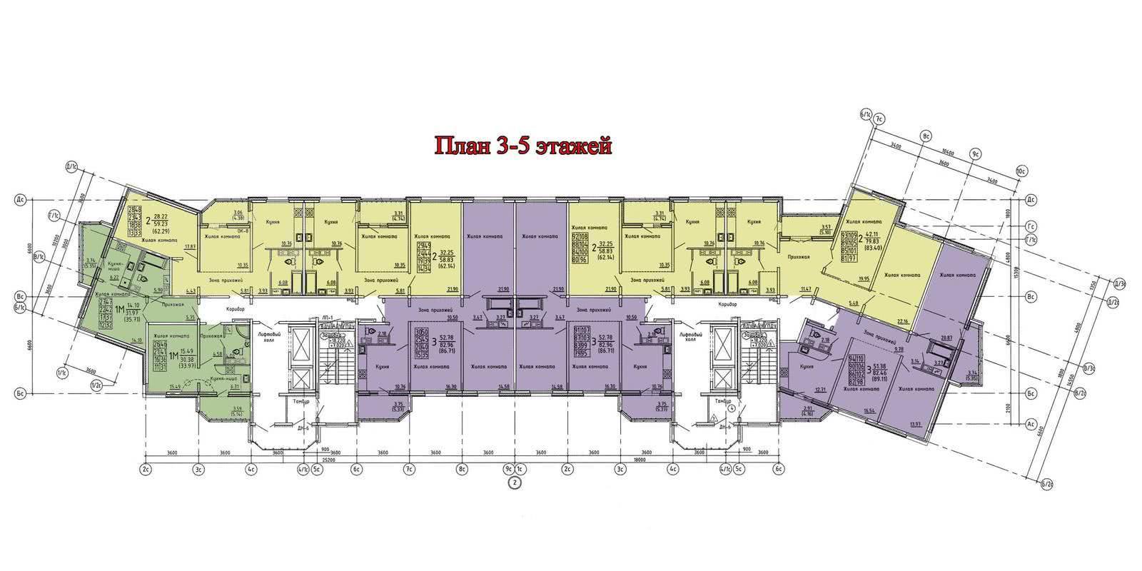 Жилой дом №4 (по генплану) - фото 6