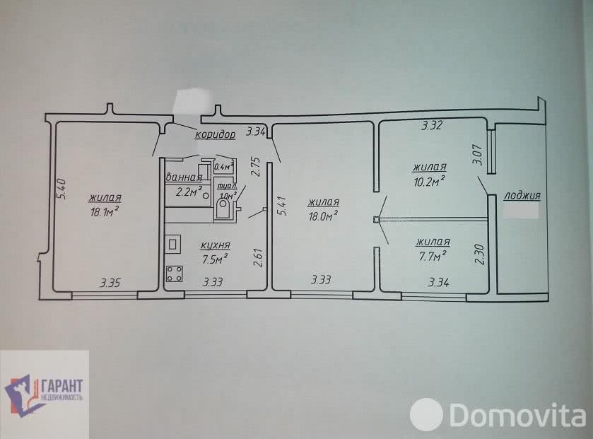 Купить 4-комнатную квартиру в Минске, ул. Брестская, д. 76 - фото 2