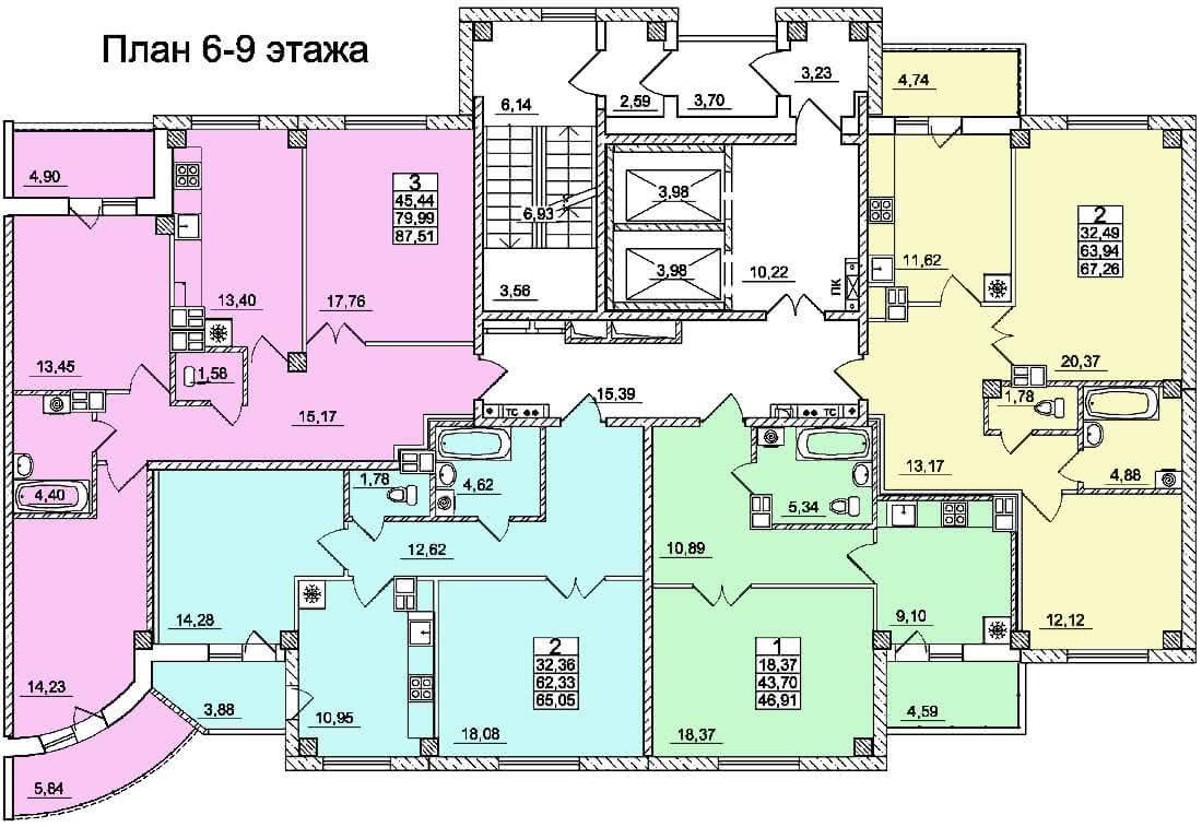 Жилой дом №5 по ул. Суворова в г. Гродно - фото 6