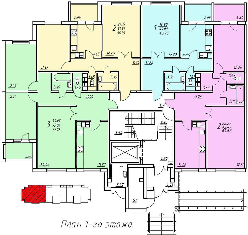 Жилой дом №312А по ул.Суворова, жилой комплекс