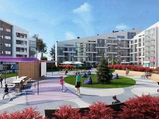 В Новой Боровой начали продавать квартиры по-новому – с ремонтом, мебелью и парковочным местом