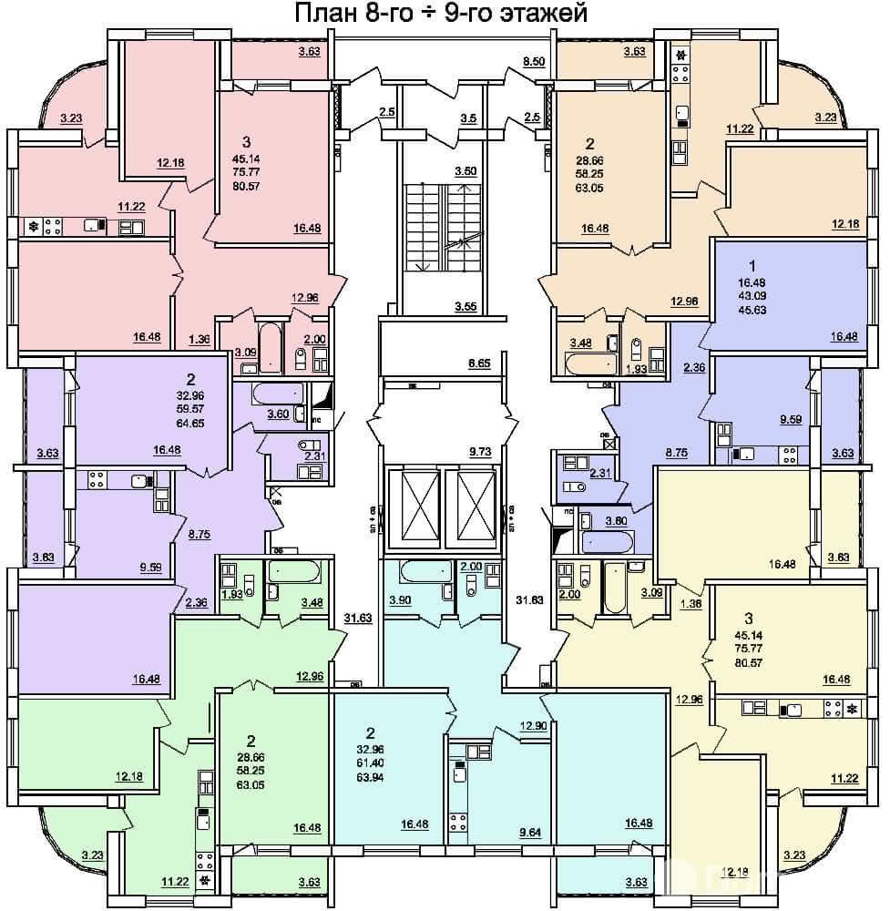 Жилой дом № 3 в микрорайоне «Фолюш» в г. Гродно - фото 6