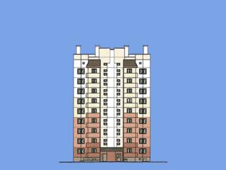 Жилой дом №1002A в микрорайоне №10 г. Новополоцка