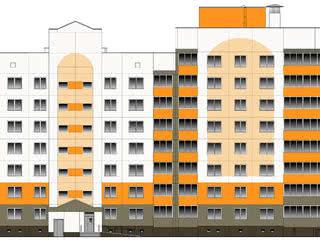 Многоквартирный жилой дом № 44 в микрорайоне застройки «Индустриальный» в г. Лида.
