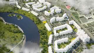 Показываем новый жилой комплекс, который строят в центре Минска