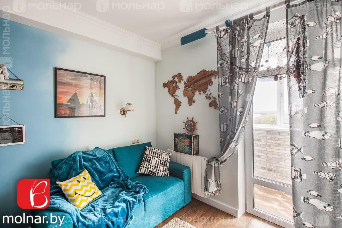 Купить 4-комнатную квартиру в Минске, ул. Тургенева, д. 7 - фото 4