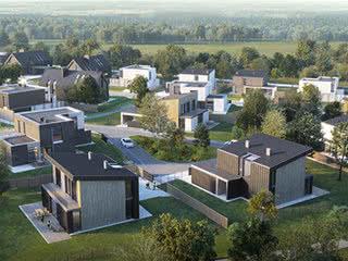 В Беларуси построят уникальный жилой комплекс в лесу и рядом с полями для гольфа