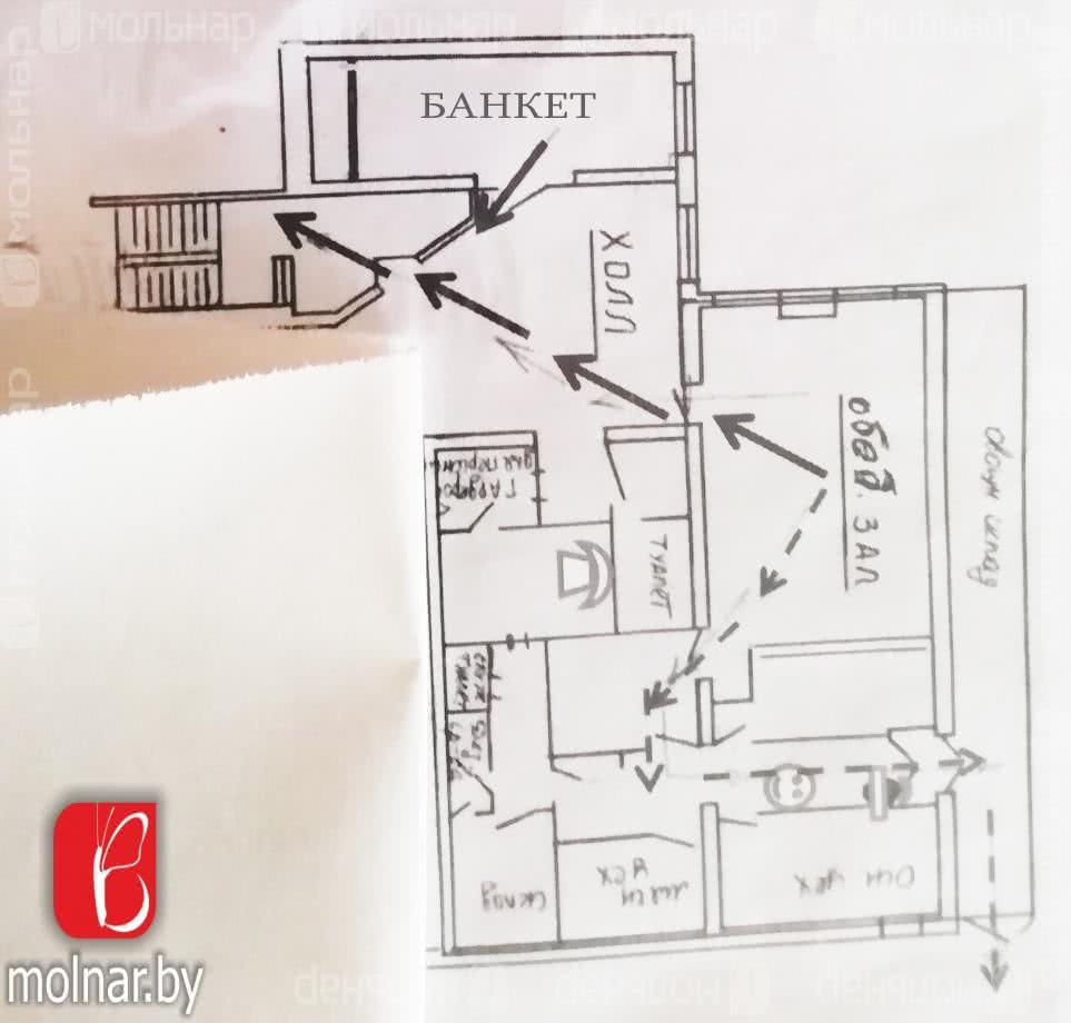 Купить помещение под сферу услуг в Минске, ул. Орловская, д. 58 - фото 4